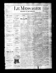Le Messager, V2 N21, (08/11/1881)