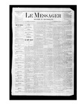 Le Messager, V1 N21, (08/05/1880) by Le Messager