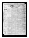 Le Messager, V1 N22, (08/12/1880) by Le Messager