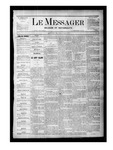 Le Messager, V1 N23, (08/19/1880) by Le Messager