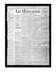 Le Messager, V1 N25, (09/02/1880) by Le Messager