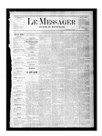 Le Messager, V1 N30, (10/14/1880) by Le Messager