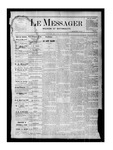 Le Messager, V1 N31, (10/21/1880) by Le Messager
