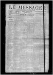 Le Messager, V10 N28, (10/03/1889)