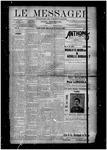 Le Messager, V10, (10/10/1889)