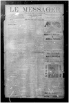 Le Messager, V10 N30, (10/17/1889) by Le Messager