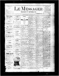 Le Messager, V2 N25, (09/08/1881)