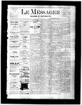 Le Messager, V2 N26, (09/15/1881)