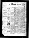 Le Messager, V2 N31, (10/20/1881)