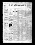 Le Messager, V2 N32, (10/27/1881)