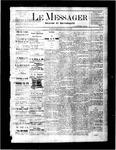 Le Messager, V2 N33, (11/03/1881)