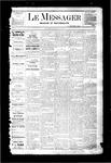 Le Messager, V3 N1, (03/23/1882)