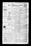Le Messager, V3 N3, (04/04/1882)