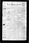 Le Messager, V3 N8, (05/11/1882)