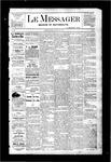 Le Messager, V3 N10, (05/25/1882)