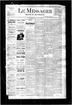 Le Messager, V3 N42, (01/11/1883)