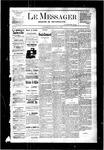 Le Messager, V3 N43, (01/18/1883)