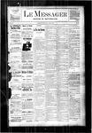 Le Messager, V3 N50, (03/08/1883)