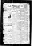 Le Messager, V4 N1, (03/22/1883)