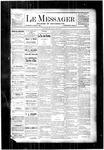 Le Messager, V4 N2, (03/29/1883)