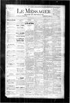 Le Messager, V4 N3, (04/05/1883)