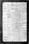 Le Messager, V4 N8, (05/10/1883)