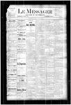 Le Messager, V4 N16, (07/05/1883)