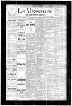 Le Messager, V4 N18, (07/19/1883)