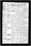 Le Messager, V4 N19, (07/26/1883)