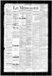 Le Messager, V4 N21, (08/09/1883)