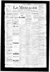 Le Messager, V4 N22, (08/16/1883)