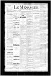 Le Messager, V4 N23, (08/23/1883)