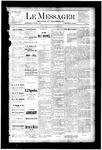 Le Messager, V4 N25, (09/06/1883)