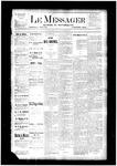 Le Messager, V4 N27, (09/20/1883)