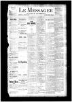 Le Messager, V4 N28, (09/27/1883)