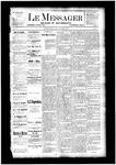 Le Messager, V4 N29, (10/04/1883)