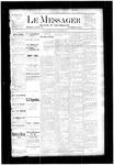 Le Messager, V4 N31, (10/18/1883)