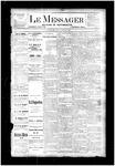 Le Messager, V4 N33, (10/31/1883)