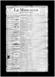 Le Messager, V4 N41, (01/10/1884)
