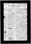 Le Messager, V4 N43, (01/24/1884)