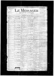 Le Messager, V5 N1, (03/27/1884)