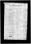 Le Messager, V5 N3, (04/17/1884)