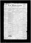 Le Messager, V5 N4, (04/24/1884)