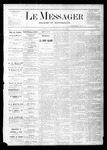 Le Messager, V1 N35, (11/18/1880) by Le Messager