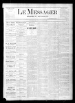 Le Messager, V1 N36, (11/25/1880) by Le Messager