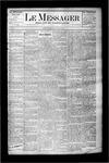 Le Messager, V5 N21, (08/28/1884)