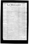 Le Messager, V5 N39, (01/08/1885)