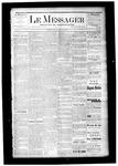 Le Messager, V6 N14, (06/25/1885)