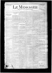 Le Messager, V6 N19, (07/30/1885)