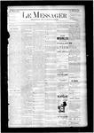Le Messager, V6 N23, (08/27/1885)